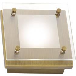 LED stropna svetilka 3.3 W topla bela Paul Neuhaus Chiron 6031-11 stara medenina