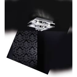 LED stropna svetilka 16.5 W topla bela Paul Neuhaus Chiron 6067-17 krom