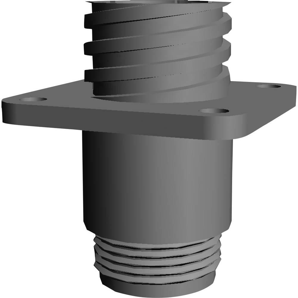 CPC ohišje vtičnice s pravokotno prirobnico, poli: 9 206061-1 TE Connectivity 1 kos