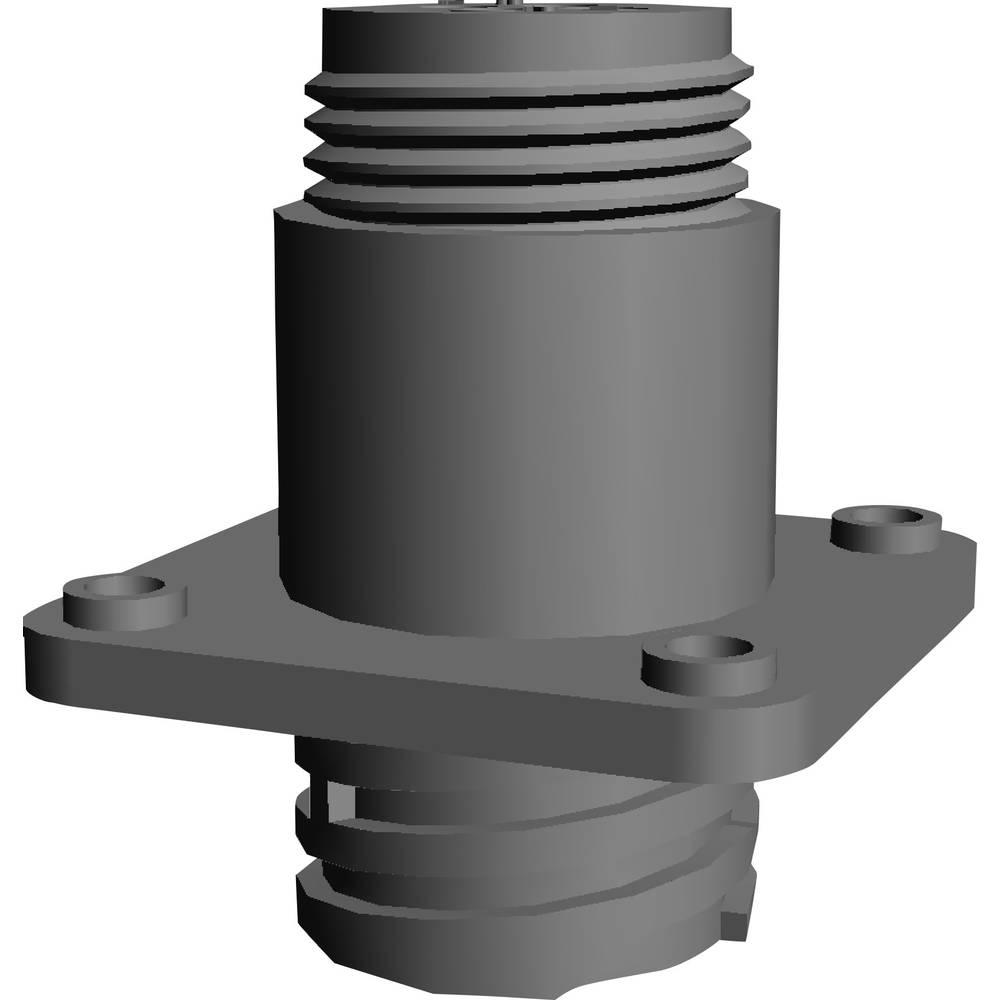 CPC ohišje vtičnice s pravokotno prirobnico, poli: 4 208130-1 TE Connectivity 1 kos