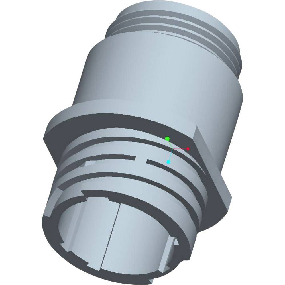 CPC ohišje vtičnice brez prirobnice poli: 16 206036-3 TE Connectivity 1 kos