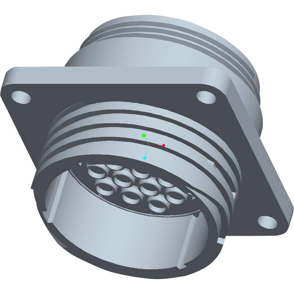 CPC ohišje vtičnice s pravokotno prirobnico, poli: 19 213870-1 TE Connectivity 1 kos