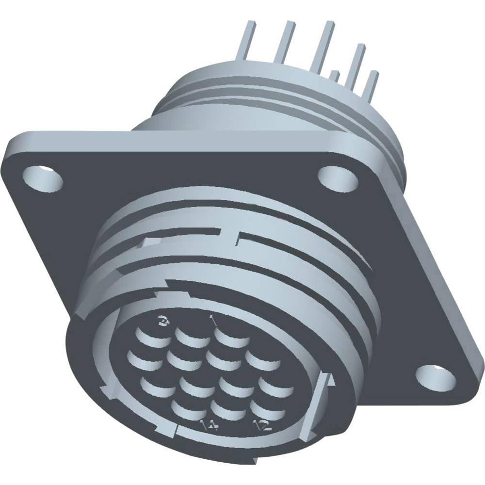 CPC ohišje vtičnice s pravokotno prirobnico, 213729-9 TE Connectivity 1 kos