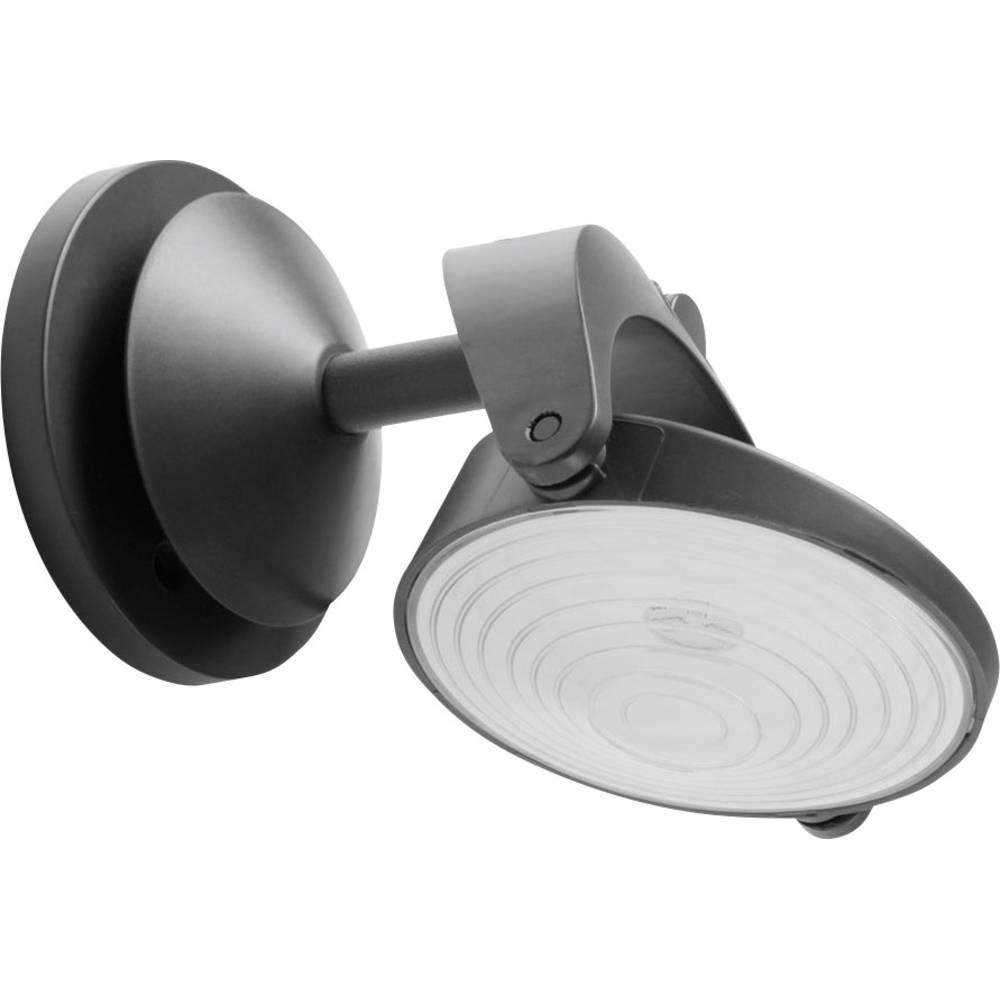 Solarna razsvetljava sun'connec LED-Stenska luč LED 1 W hladna bela Lutec Stack P 9037 antracitna