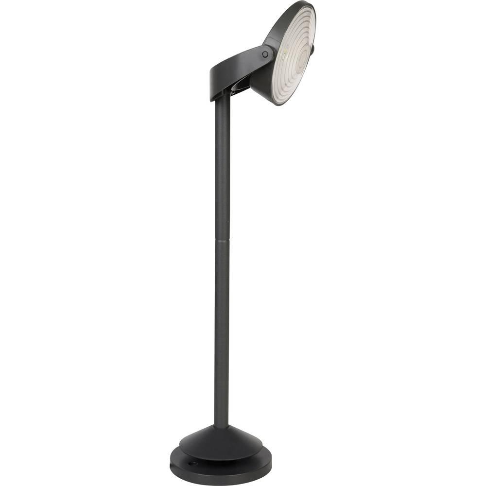 LED 1 W hladna bela Lutec Stack P 9037-450 antracitna