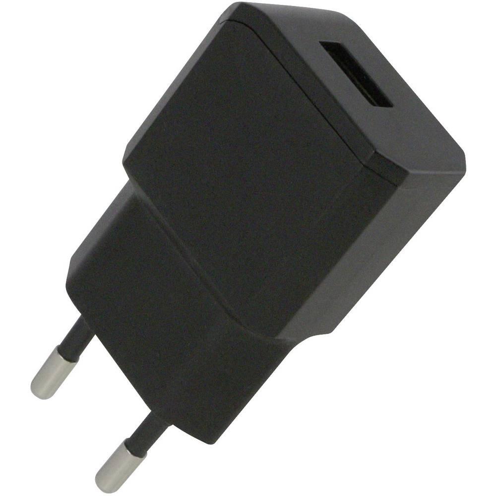 USB-oplader HN Power HN-Power HNP11-USBV2-BLACK Stikdåse Udgangsstrøm max. 2100 mA 1 x USB