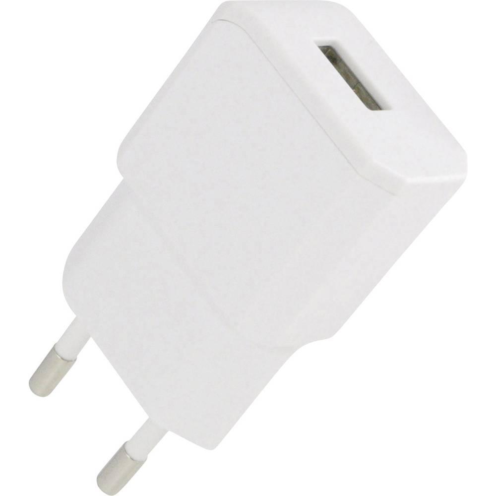 USB-oplader HN Power HN-Power HNP11-USBV2-WHITE Stikdåse Udgangsstrøm max. 2100 mA 1 x USB (value.1390762)