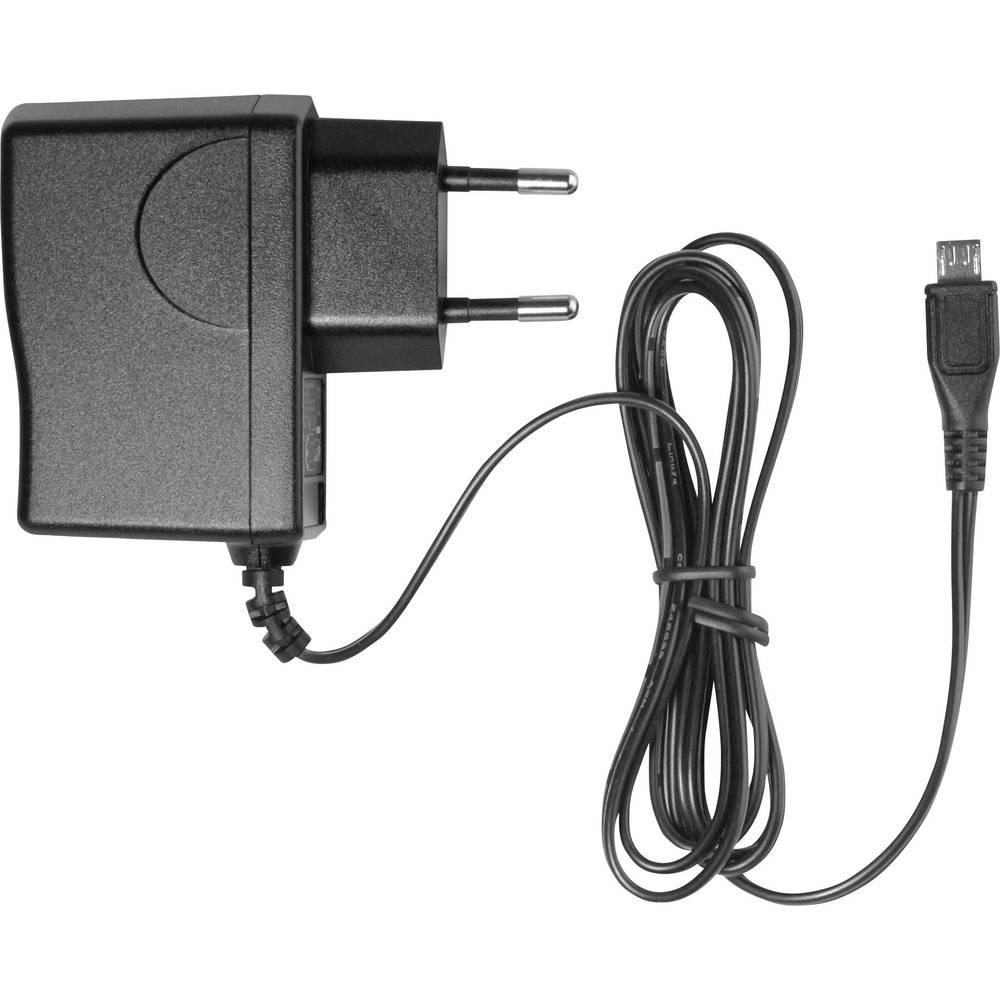 USB-oplader HN Power HNP12-MicroUSB HNP12-MicroUSB Stikdåse Udgangsstrøm max. 2000 mA 1 x Mikro-USB Egnet til Raspberry Pi 2