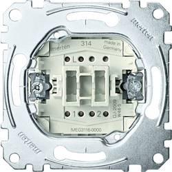 Merten Vložek Izklop, Stikalo za izklop/preklop Sistem M, Ploščati sistem, Aqua design MEG3116-0000