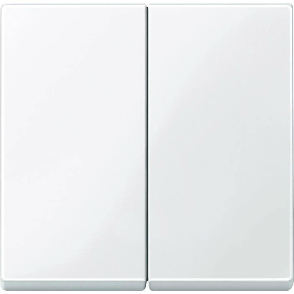 Merten Pokrov Serijsko stikalo Sistem M Polarno bela / svetleča 432519