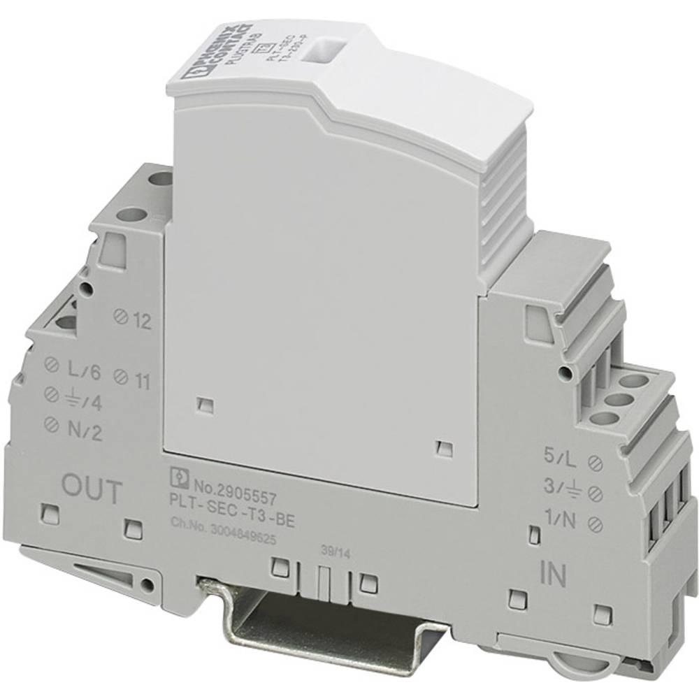 Prenaponski odvodnik, zaštita od prenapona za: razvodni ormar Phoenix Contact PLT-SEC-T3-24-FM 2905223 1 kA