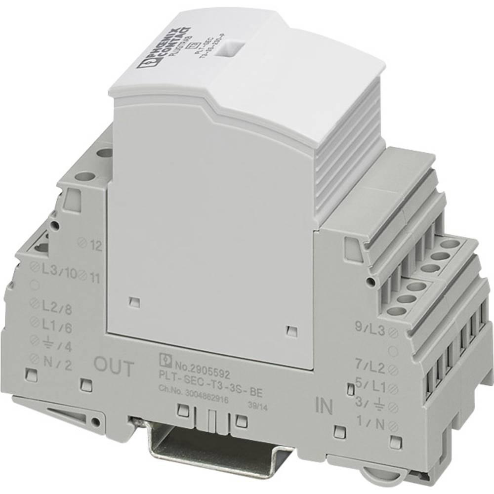 Prenaponski odvodnik, zaštita od prenapona za: razvodni ormar Phoenix Contact PLT-SEC-T3-3S-230-FM 2905230 3 kA
