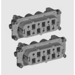 Stiftindsats TE Connectivity HSB 1-1104207-1 Samlet poltal 6 + PE 1 stk