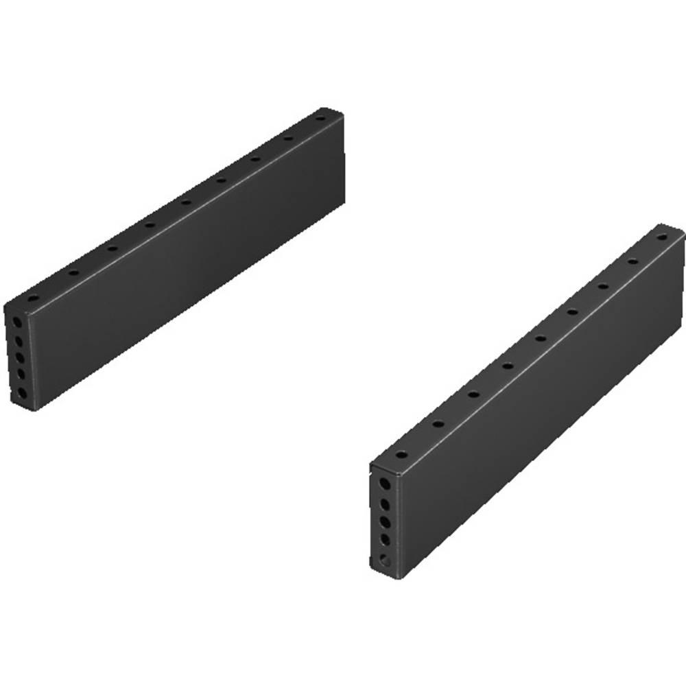 Podnožne ploče Rittal za TS, CM, TP, PC, TE 8601040 olovni lim umbra siva za dubinu: 400 mm