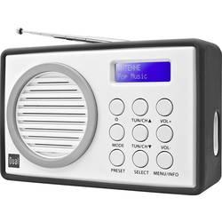 DAB+ Bärbar radio Dual DAB 81 Grå, Vit