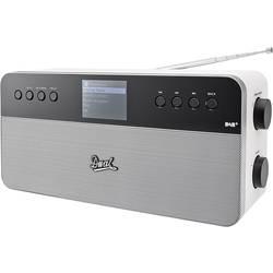 Internet Bordsradio Dual IR 6S Plus Spotify-connect Vit, Silver