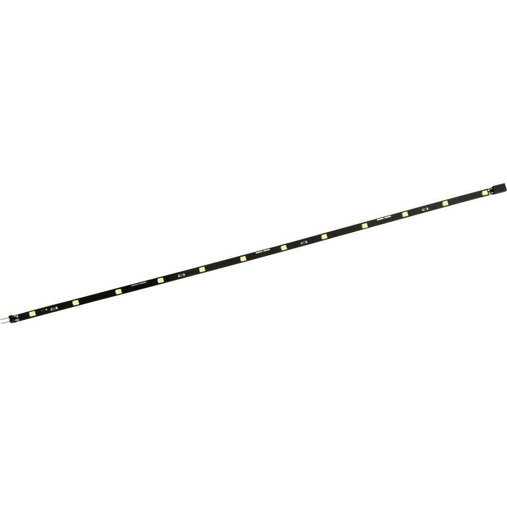 LED trak z vtičem/vtičnico 12 V 33 cm nevtralno bela Conrad 1343333