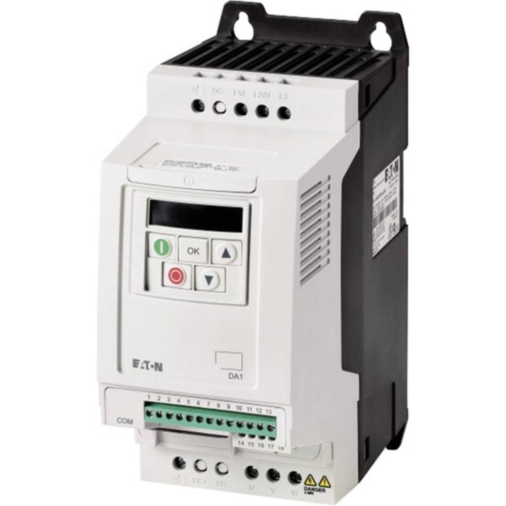 Ispravljač frekvencije DC1 DC1-122D3FN-A20N PowerXL™ Eaton 1-/3-fazni 0,37 kW 169240 1fazni 230 V/AC 0,37 kW