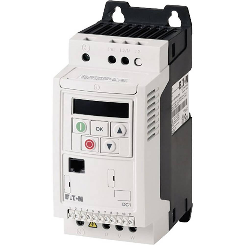 Ispravljač frekvencije DC1 DC1-344D1NN-A20N PowerXL™ Eaton 3-/3-fazni 1,5 kW 169456 3fazni 400 V/AC 1,5 kW