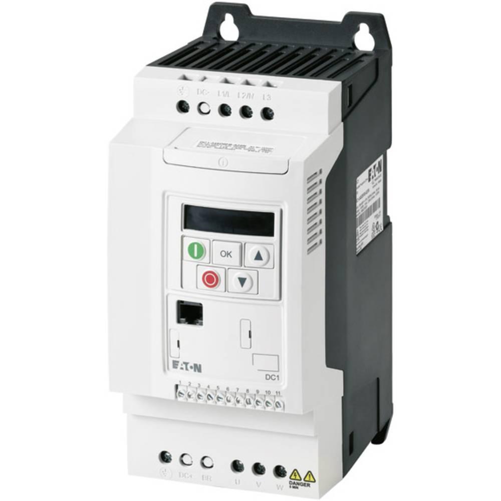 Ispravljač frekvencije DC1 DC1-349D5FB-A20N PowerXL™ Eaton 3-/3-fazni 4 kW 169487 3fazni 400 V/AC 4 kW
