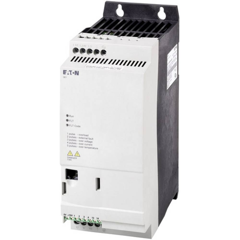 Pokretač broja okretaja DE1 Eaton PowerXL™ 2,2 kW DE1-345D0FN-N20N radni napon 400 V/AC izlazni napon 400 V/AC struja arma