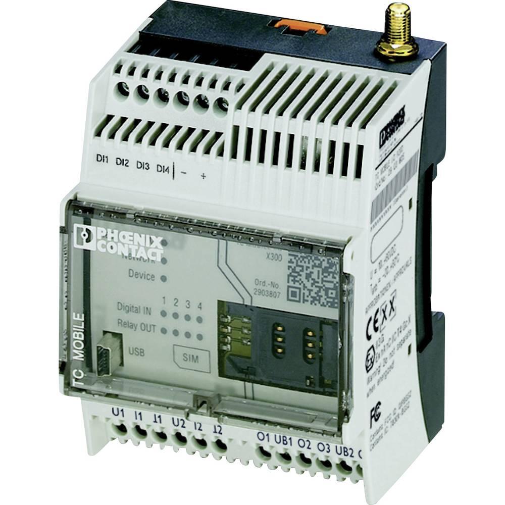 GSM modul 12 V/DC, 60 V/DC Phoenix Contact TC MOBILE I/O X200