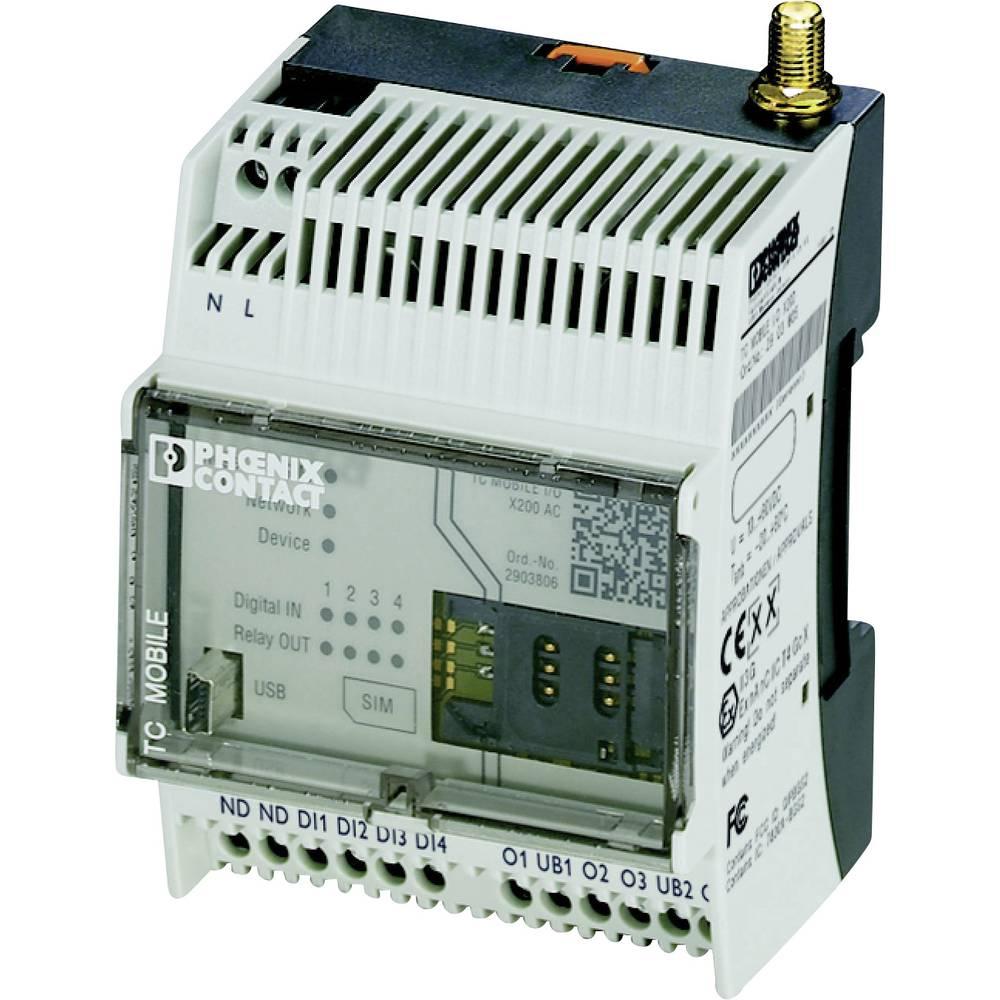 GSM modul 110 V/AC, 230 V/AC Phoenix Contact TC MOBILE I/O X200 AC
