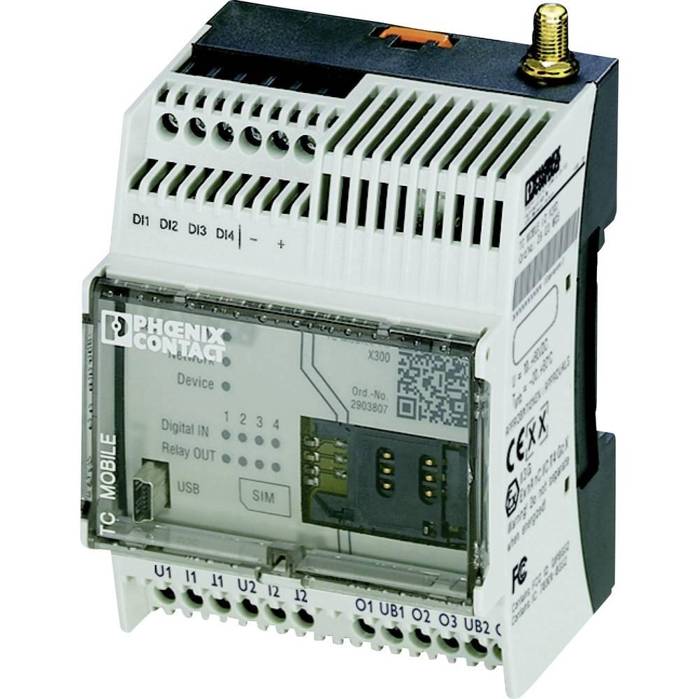 GSM modul 12 V/DC, 60 V/DC Phoenix Contact TC MOBILE I/O X300