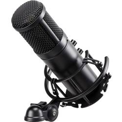 USB-studiomikrofon Renkforce ST-60 USB inkl. spindel, inkl. kabel