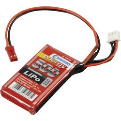 Baterijski paket za modele (LiPo) 7.4 V 500 mAh broj ćelija: 2 25 C Conrad energy štap BEC