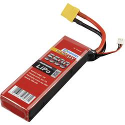 Baterijski paket za modele (LiPo) 7.4 V 5500 mAh broj ćelija: 2 20 C Conrad energy štap XT90