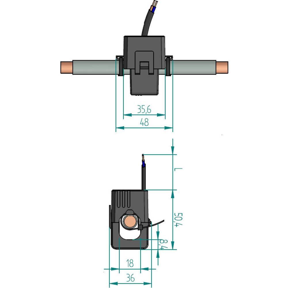 Gossen Metrawatt SC30 strujni transformator