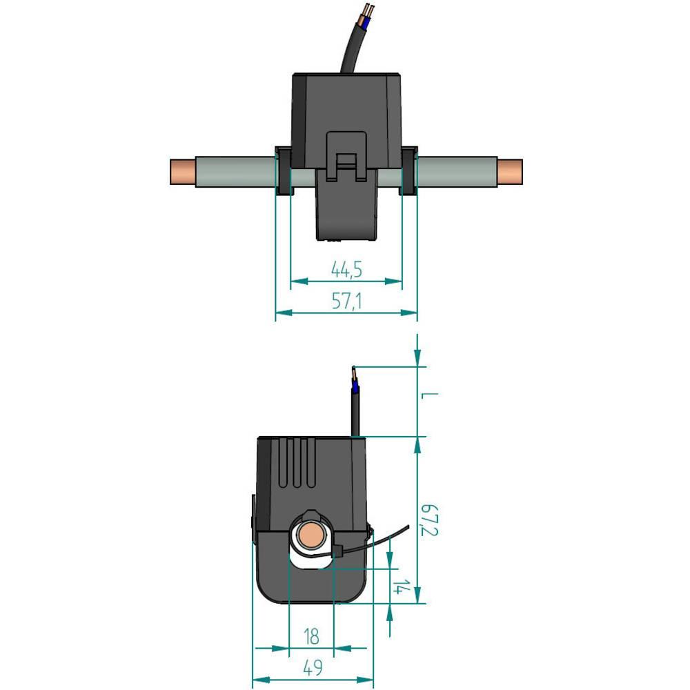 Gossen Metrawatt SC40-B strujni transformator
