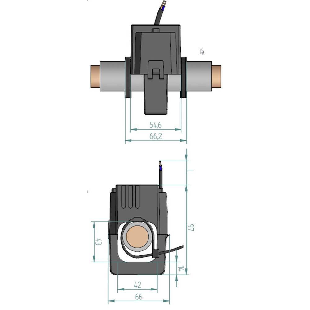Gossen Metrawatt SC50-E strujni transformator