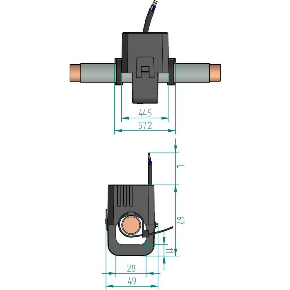 Gossen Metrawatt SC40-C strujni transformator