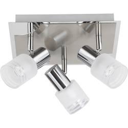 LED stropni reflektor E14 9 W Brilliant Lea G32434/77 krom