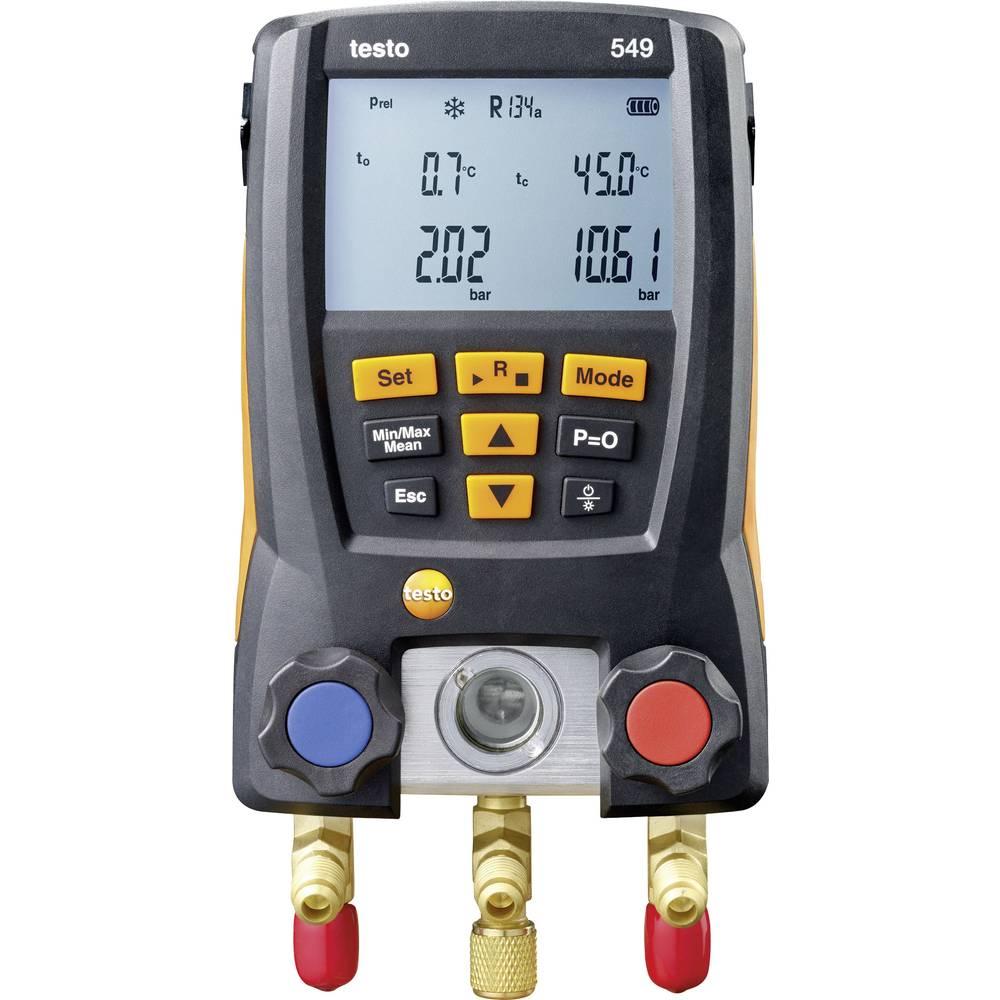 testo 549 digitalna naprava za kontrolo hladilnih sistemov in toplotnih črpalk