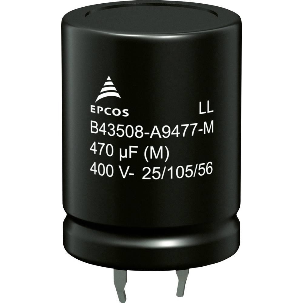 Elektrolitski kondenzator SnapIn 680 µF 200 V 20 % (promjer x V) 22 mm x 40 mm Epcos B43508A2687M000 640 kom.