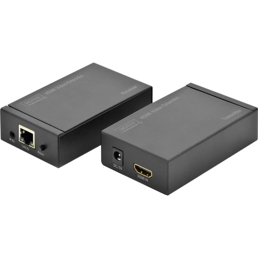 HDMI™ Extender uređaj Digitus preko mrežnog kabla RJ45 120 m 1920 x 1080 piksela HDMI video Extender preko CAT5 mrežnog ka