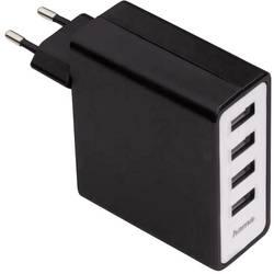 USB-vtični polnilnik Hama 00054182 izhodna napetost (max.) 5100 mA 4 x USB