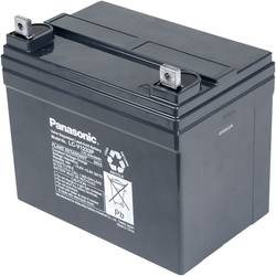 Svinčev akumulator 12 V 33 Ah Panasonic LC-V1233P LC-V1233PC svinčevo-koprenast (AGM) 196 x 155 x 130 mm M6-vijačni priklop