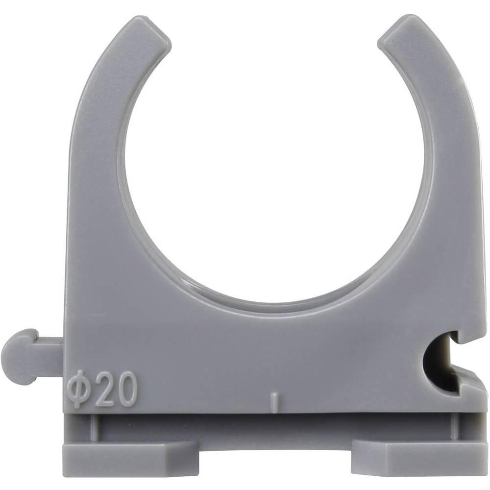 Sponka EN20 20 mm KSS PPC20 sive barve 50 kosov