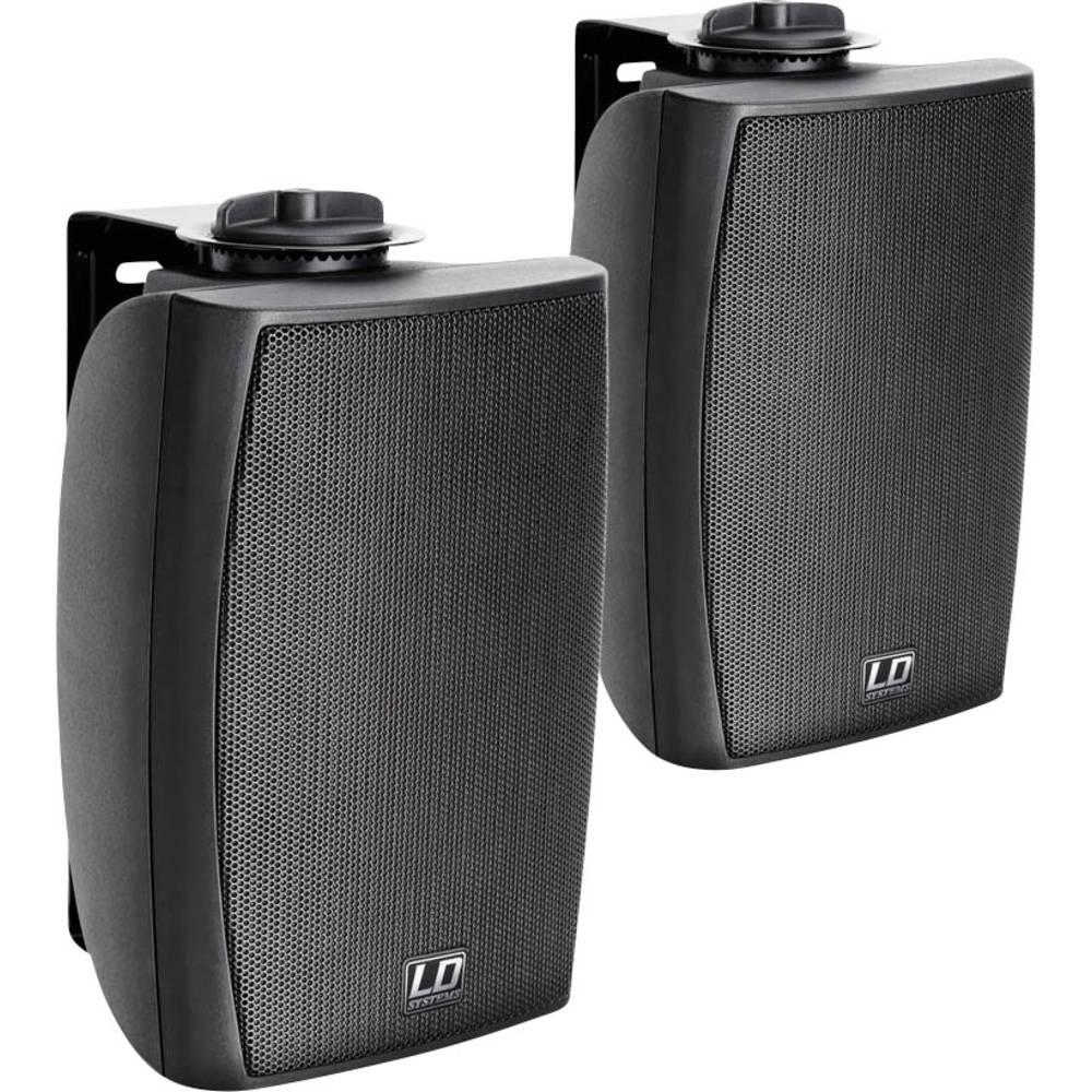 Stenski zvočnik LD Systems LDCWMS42B 40 W 8 črn 1 par