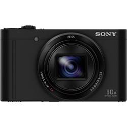 Sony DSC-WX500 Digitalna kamera 18.2 Mio. Pikslov Zoom (optični): 30 x Črna vrtljivi premični zaslon, Full HD video, Live pogled