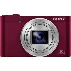 Sony DSC-WX500 Digitalna kamera 18.2 Mio. Pikslov Zoom (optični): 30 x Rdeča Akumulator vrtljivi premični zaslon, Full HD video,