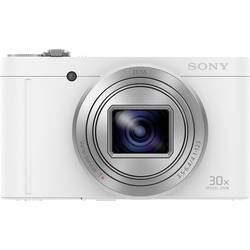 Sony DSC-WX500 Digitalna kamera 18.2 Mio. Pikslov Zoom (optični): 30 x Bela vrtljivi premični zaslon, Full HD video, Live pogled