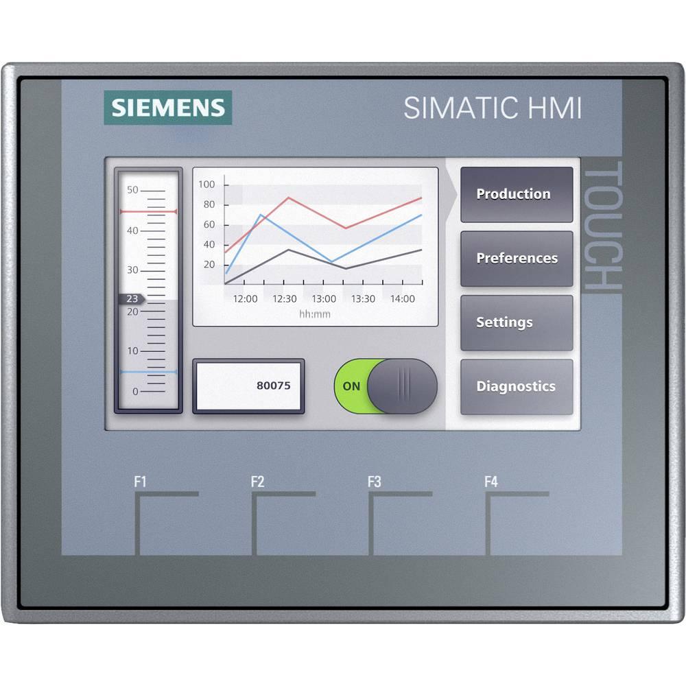 SPS razširitev zaslona Siemens SIMATIC HMI KTP400 BASIC 6AV2123-2DB03-0AX0 24 V/DC