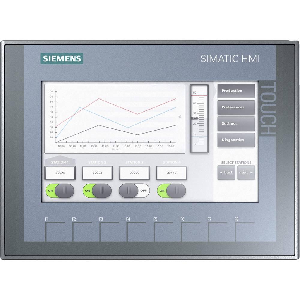 SPS razširitev zaslona Siemens SIMATIC HMI KTP700 BASIC 6AV2123-2GB03-0AX0 24 V/DC