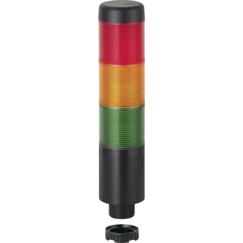 LED signalni stup Kompakt 37 698.110.75 Werma Signaltechnik s kalotama u boji 24 V AC/DC struja 150 mA boja: zelena, žuta, crven