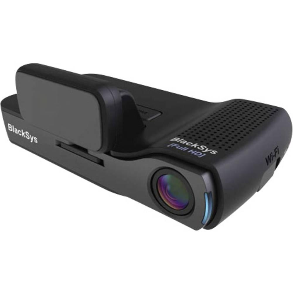 Avto kamera z GPS-om BlackSys CH-100B vodoravni kot gledanja=135 ° 12 V, 24 V dvojna kamera